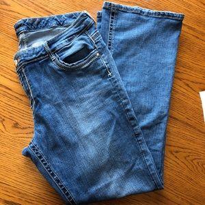 Seven7 Bootcut MidRise Jeans Size 20